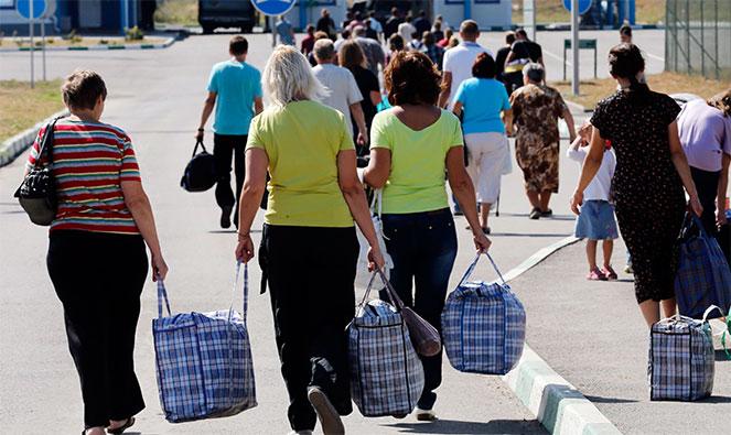 На какую помощь в РФ могут рассчитывать беженцы