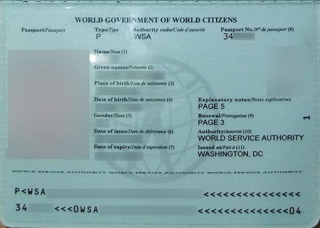 Как получить паспорт гражданина мира