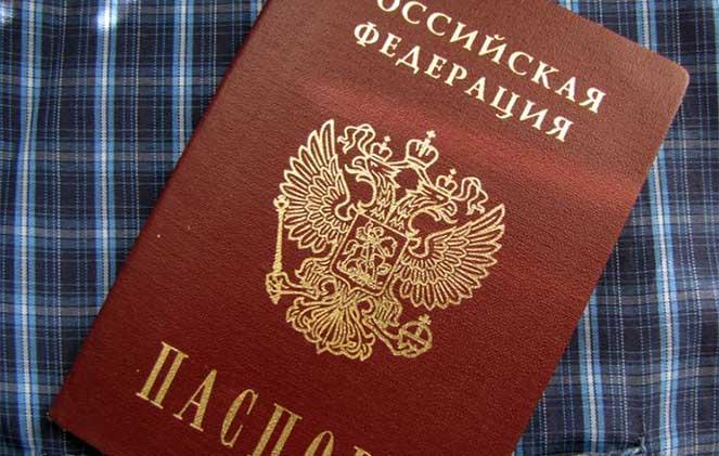 Где можно посмотреть информацию о серии и номере паспорта
